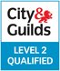city and guilds level 2 qualified logo